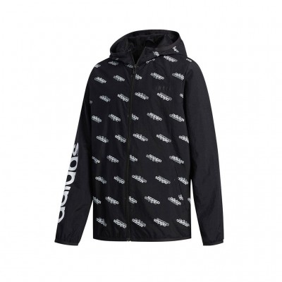 ADIDAS FAVORITES WINDBREAKER FM0742 ΜΑΥΡΟ