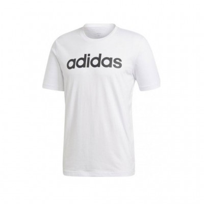 ADIDAS ESSENTIALS LINEAR TEE DQ3056 ΛΕΥΚΟ