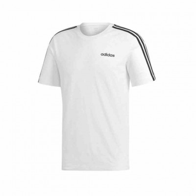 ADIDAS ESSENTIALS 3 STRIPES TEE DU0441 ΛΕΥΚΟ
