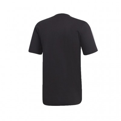 ADIDAS ESSENTIALS 3 STRIPES TEE DQ3113 ΜΑΥΡΟ
