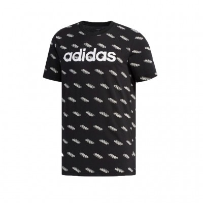 ADIDAS FAVORITES TEE FM6022 ΜΑΥΡΟ