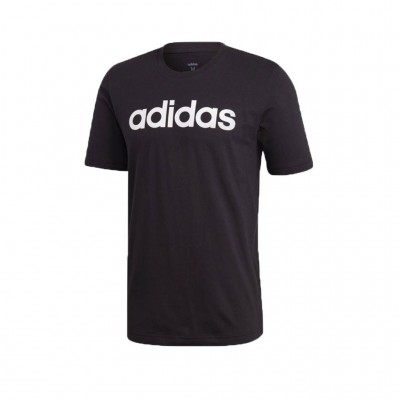 ADIDAS ESSENTIALS LINEAR TEE DU0404 ΜΑΥΡΟ
