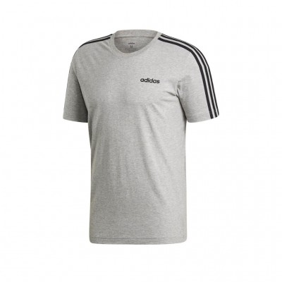 ADIDAS ESSENTIALS 3-STRIPES TEE DU0442 ΓΚΡΙ
