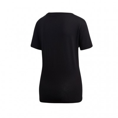 ADIDAS ESSENTIALS LINEAR TEE DP2361 ΜΑΥΡΟ