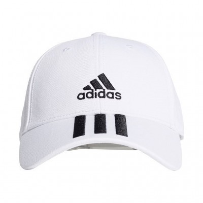 ADIDAS BASEBALL CAP 3-STRIPES FQ5411 ΛΕΥΚΟ