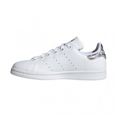 ADIDAS STAN SMITH J EE8483 ΛΕΥΚΟ