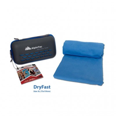 ALPINTEC ΠΕΤΣΕΤΑ MICROFIBER DRYFAST MS-XL-BE ΓΑΛΑΖΙΟ