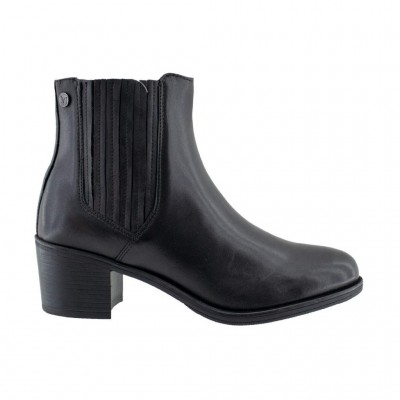 CAPRICE LEATHER BOOT 9 25351 25 022 ΜΑΥΡΟ