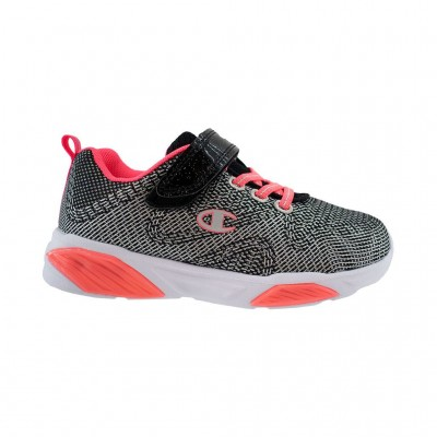 CHAMPION LOW CUT SHOE WAVE S31773 KK001 ΜΑΥΡΟ ΚΟΡΑΛΙ