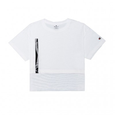 CHAMPION T-SHIRT 112826 WW001 ΛΕΥΚΟ