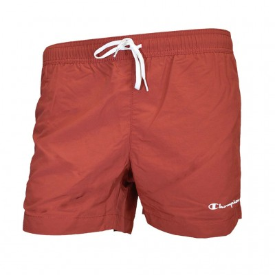 CHAMPION BERMUDA SWIMSUIT 214441 RS518 ΜΠΟΡΝΤΟ