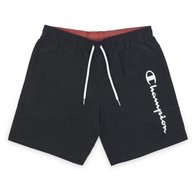 CHAMPION BERMUDA SWIMSUIT 214440 KK001 ΜΑΥΡΟ