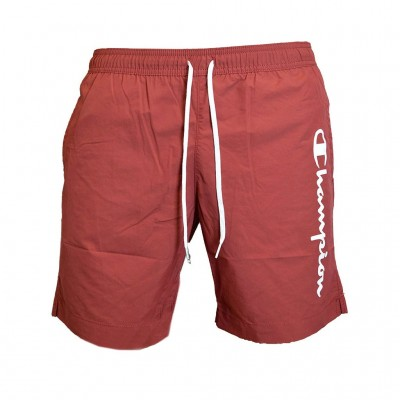 CHAMPION BERMUDA SWIMSUIT 214440 RS518 ΜΠΟΡΝΤΟ