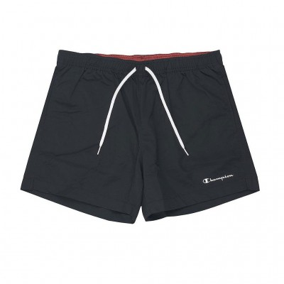 CHAMPION BERMUDA SWIMSUIT 214441 KK001 ΜΑΥΡΟ