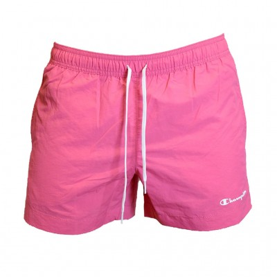 CHAMPION BERMUDA SWIMSUIT 214441 PS120 ΡΟΖ