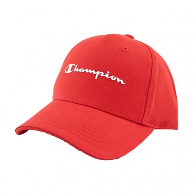 CHAMPION CAP JUNIOR 804877 RS046 ΚΟΚΚΙΝΟ