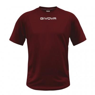 SHIRT GIVOVA MAC01 0008 BORDEAUX