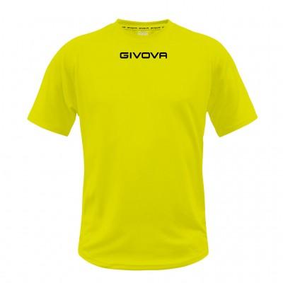 SHIRT GIVOVA MAC01 0019 YELLOW FLUO