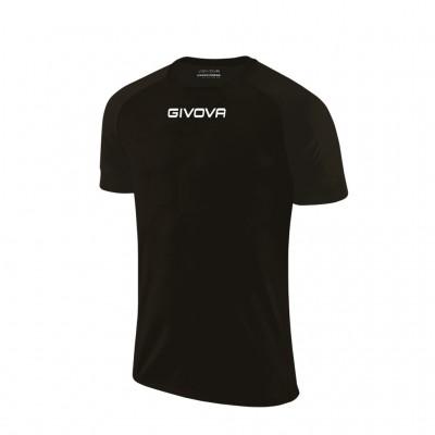 GIVOVA SHIRT CAPO MC MAC03 0010 BLACK