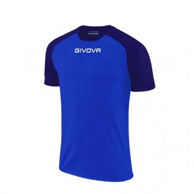 GIVOVA SHIRT CAPO MC MAC03 0204 ROYAL BLUE