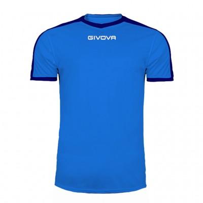 GIVOVA SHIRT REVOLUTION MAC04 0204 ROYAL BLUE