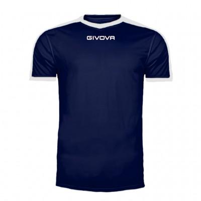 GIVOVA SHIRT REVOLUTION MAC04 0403 BLUE WHITE