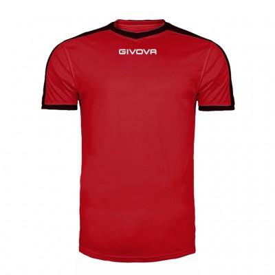 GIVOVA SHIRT REVOLUTION MAC04 1210 RED BLACK