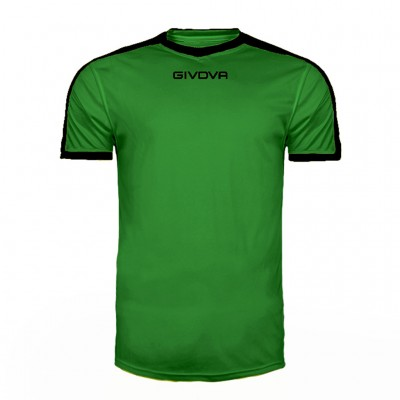 GIVOVA SHIRT REVOLUTION MAC04 1310 GREEN BLACK
