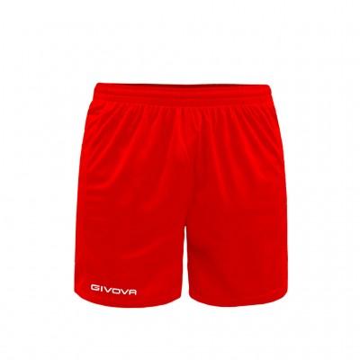 GIVOVA PANTALONCINO ONE P016 0012 RED
