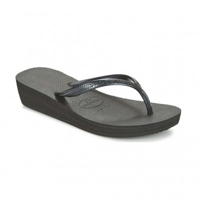 HAVAIANAS HIGH LIGHT 4001030-0090 ΜΑΥΡΟ