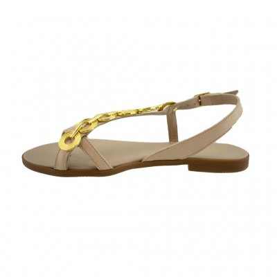 MAROLI SANDAL LEATHER 20724 NUDE