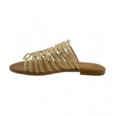 MAROLI SANDAL LEATHER 20227 ΤΑΜΠΑ
