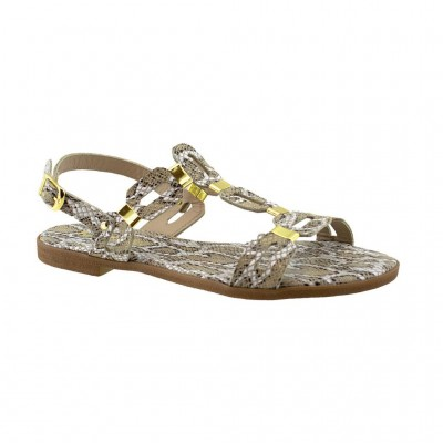 MAROLI SANDAL LEATHER 15220 ΜΠΕΖ