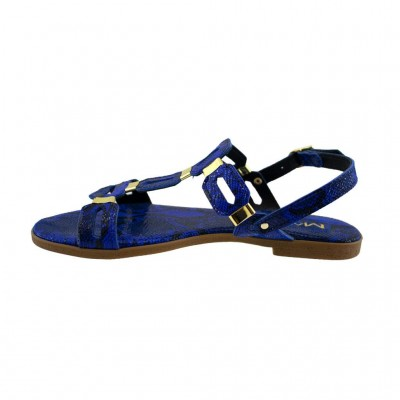 MAROLI SANDAL LEATHER 15220 ΜΠΛΕ