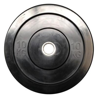 OPTIMUM RUBBER BUMPER PLATE 10KG DB6070-10