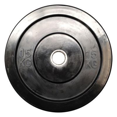 OPTIMUM RUBBER BUMPER PLATE 15KG DB6070-15