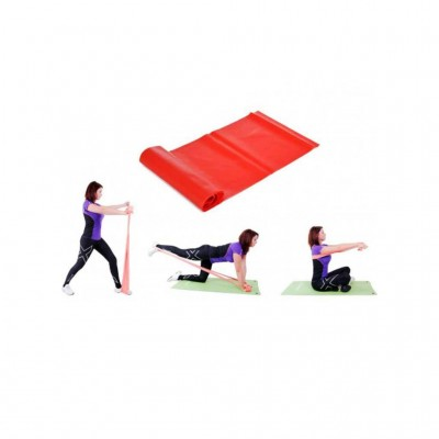 OPTIMUM LATEX GYM BAND 250X15CM CX-CE1005-45 ΜΕΣΑΙΟ ΚΟΚΚΙΝΟ