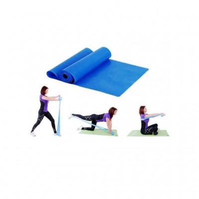OPTIMUM LATEX GYM BAND 250X15CM CX-CE1005-55 ΣΚΛΗΡΟ ΜΠΛΕ