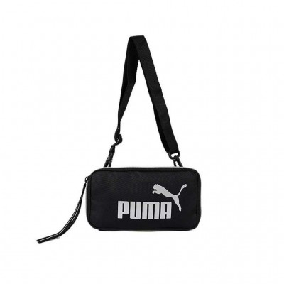 PUMA CORE UP SLING BAG 077480 01 ΜΑΥΡΟ ΑΣΗΜΙ