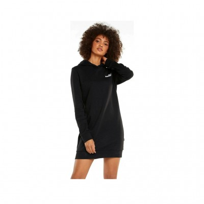 PUMA HOODED DRESS 589129 01 BLACK