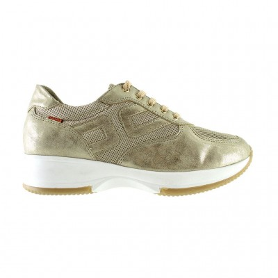 RAGAZZA LEATHER SNEAKERS 0246 ΧΡΥΣΟ