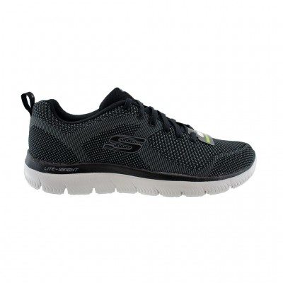 SKECHERS SUMMITS BRISBANE 232057 BKW ΜΑΥΡΟ