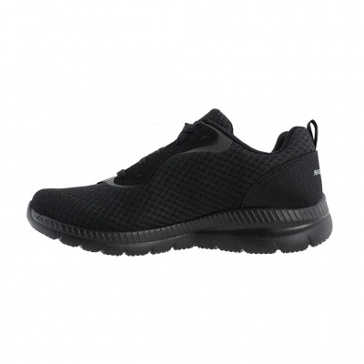SKECHERS MESH LACE UP 12606 BBK ΜΑΥΡΟ