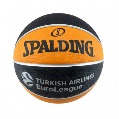 SPALDING TF-100 EUROLEAGUE SIZE 7 84 003Z1 ΠΟΡΤΟΚΑΛΙ