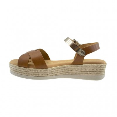 SPARTANAS LEATHER SANDALS 4568 ΤΑΜΠΑ