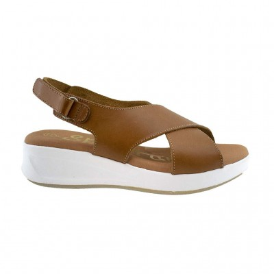 SPARTANAS LEATHER SANDALS 4573 ΤΑΜΠΑ