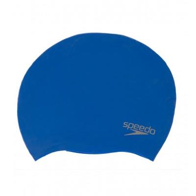 SPEEDO PLAIN MOULDED SILICON CAP 70984 2610U BLUE