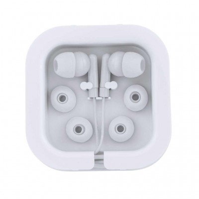 BOTTOM EARPHONES AOKI EP3300 01 ΛΕΥΚΟ