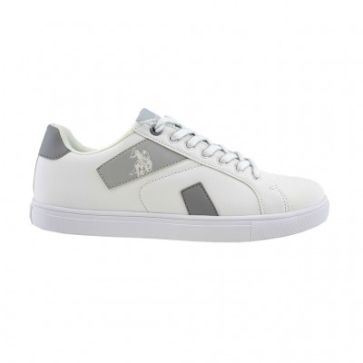 US POLO ASSN BRAYDEN ΛΕΥΚΟ ΓΚΡΙ