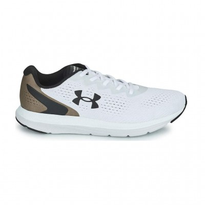 UNDER ARMOUR CHARGED IMPULSE 2 3024136 100 ΛΕΥΚΟ ΚΑΦΕ